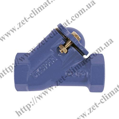 Клапан обратный канализационный чугунный муфтовый шаровой